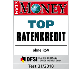 Focus Money Top Ratenkredit